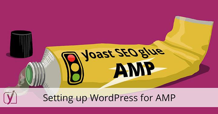 configurare wp pagine amp