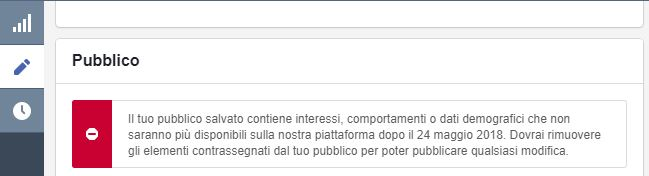 interessi facebook gdpr